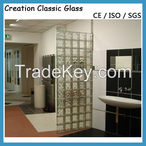 2016 Clear or Colored Glass Block-Glass Brick for Wall