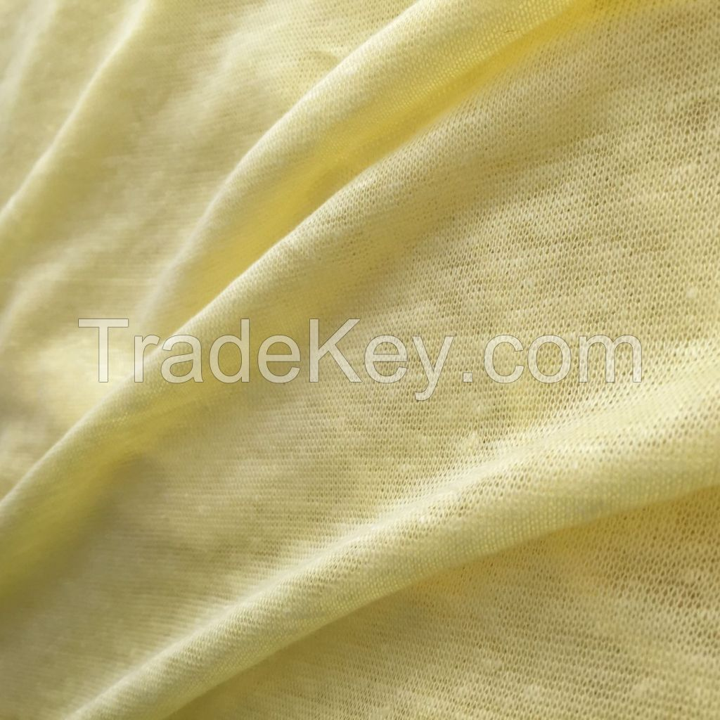 knitting Linen single jersey Linen jersey