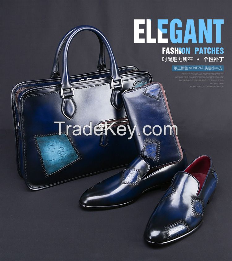 Luxury Brand Shoes Men Genuine Leather Business Shoes Men Casual Flat Shose Leather Oxfords Shoes New