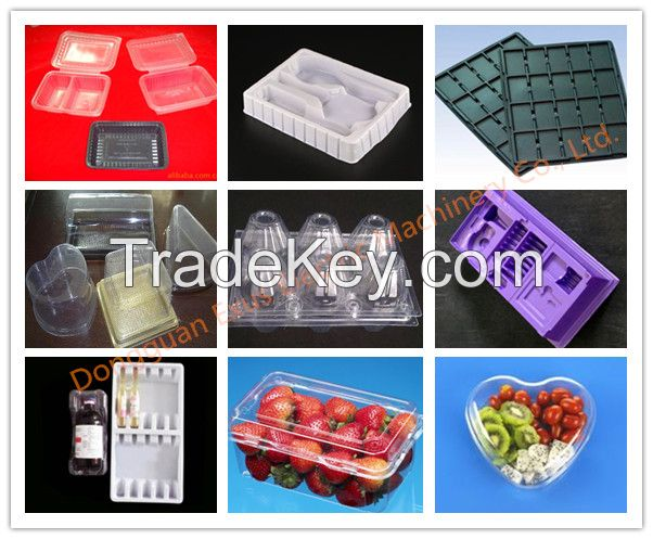 Plastic Blister Packaging Vacuum Thermoforming Machine From Manufaturer
