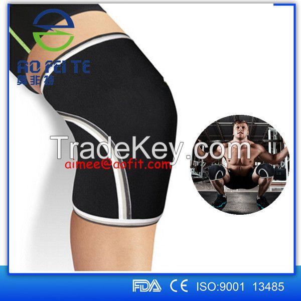 Amazon best seller 7mm neoprene knee sleeve with factory price