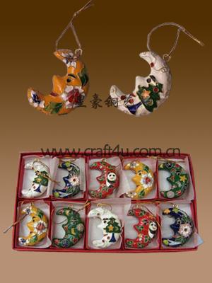 cloisonne Christmas decoration