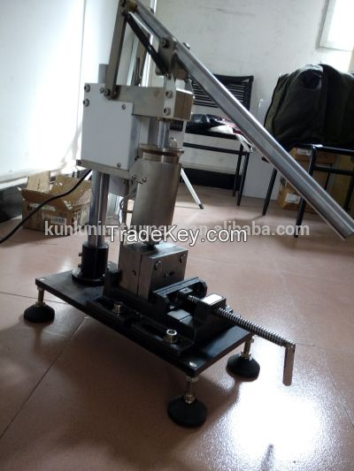 Small manual desktop plastic injection molding machine buy.