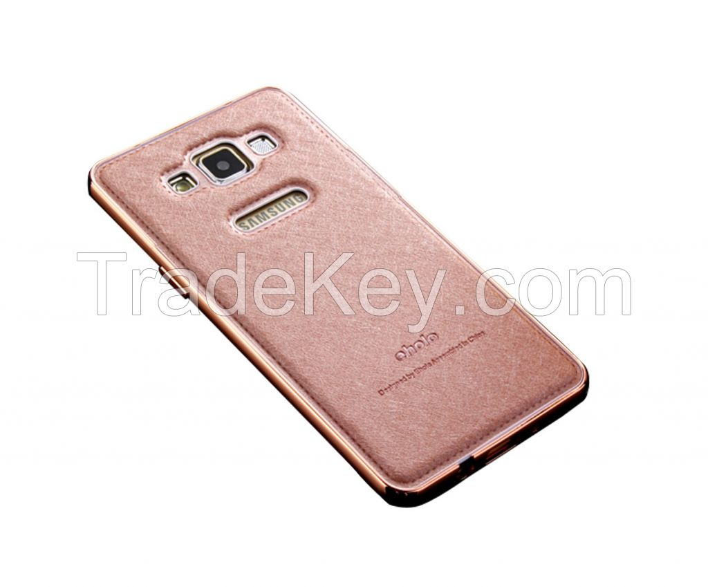 Samsung A5 Metal Frame Imported Silk Phone Case