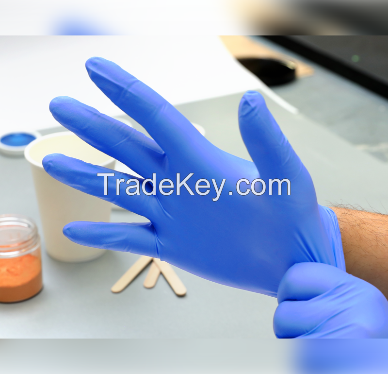 Powder-Free Nitrile Examination Gloves
