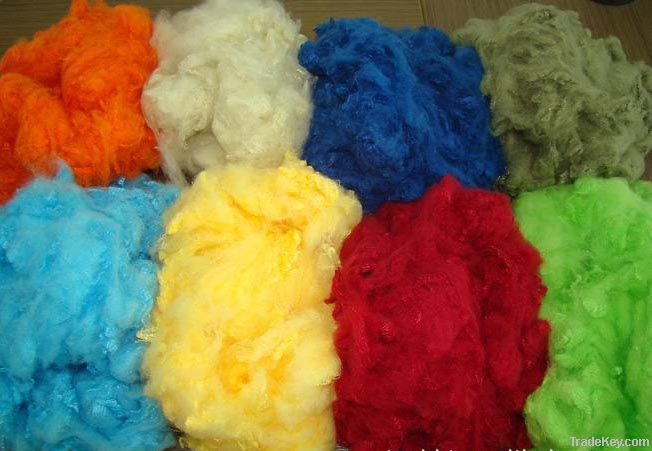 dope dyed polyester staple fiber