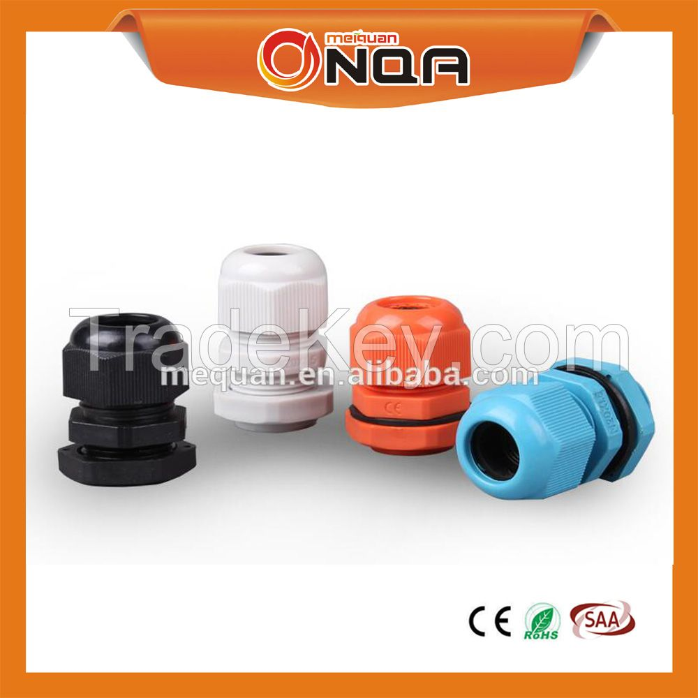 M20 Nickel Plated Brass Cable Gland/Nylon Cable Glands PA66/PP Metal