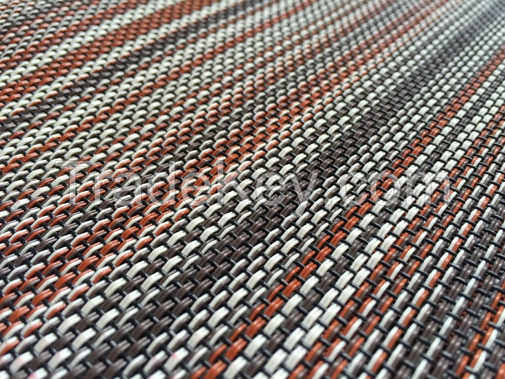 PVC woven floor covering
