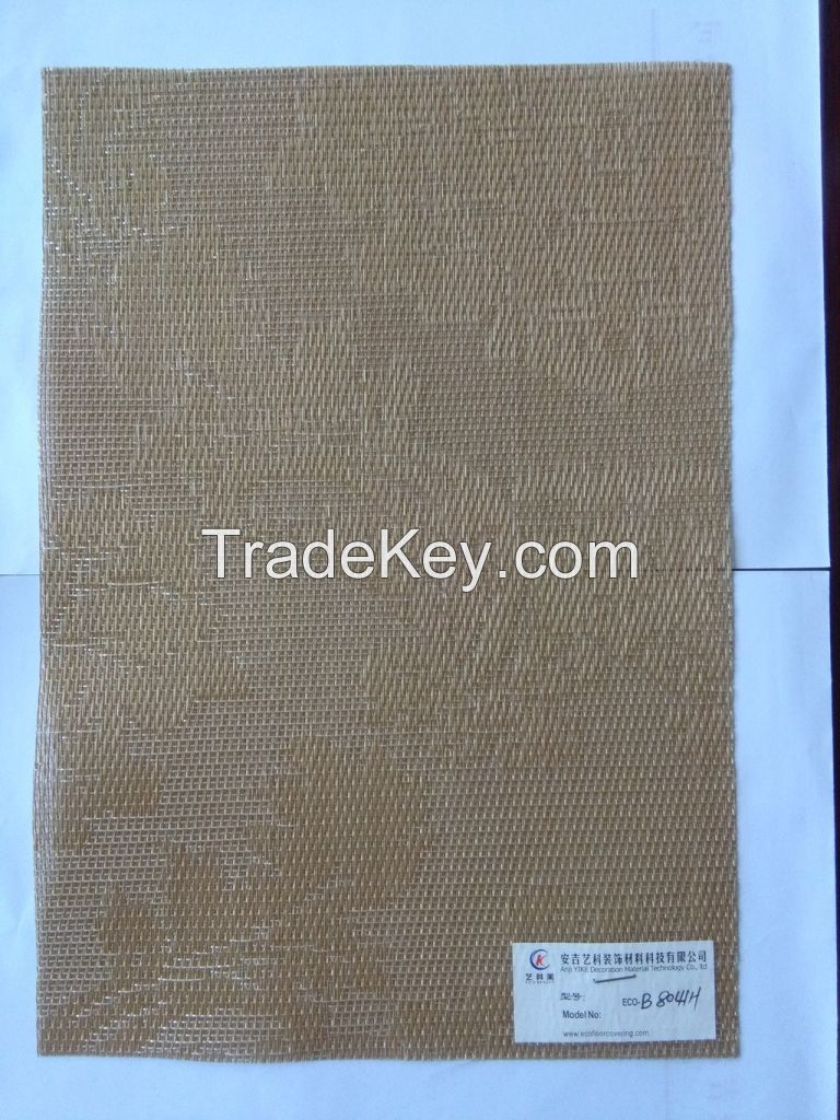 PVC woven wall covering