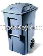 hot sale roto-moulded plastic dustbin