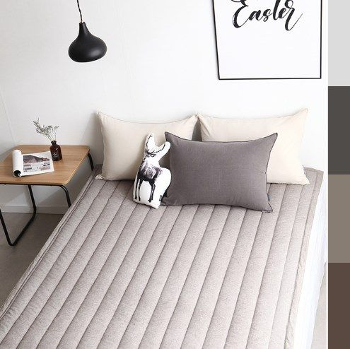 Pure cotton quilt pad for bed
