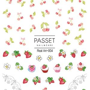 Passet Real Nail Art Sticker For Nail Decoration