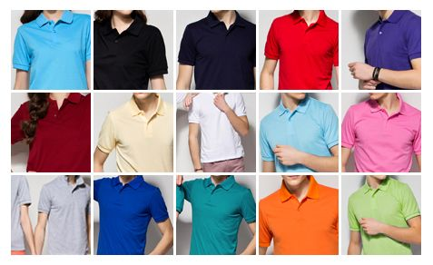 Short sleeve Pique Shirts(PK shirt) with various colors