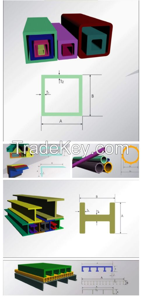 FRP/GRP pultruded profile, high quality products