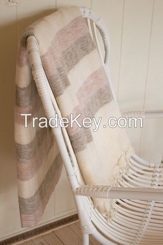 Yak wool blankets