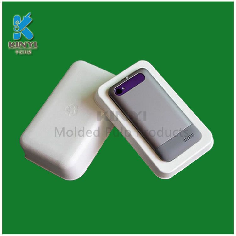 Smooth and Sturdy Customized Mobile Case Packaging/ Insert trays for phone packaging