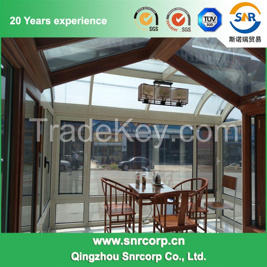 Modern Design Walk-in Glass Garden Greenhouse