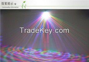 RGB rotating color crystal led bulb  disco  party lighting