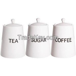tea coffee sugar canister