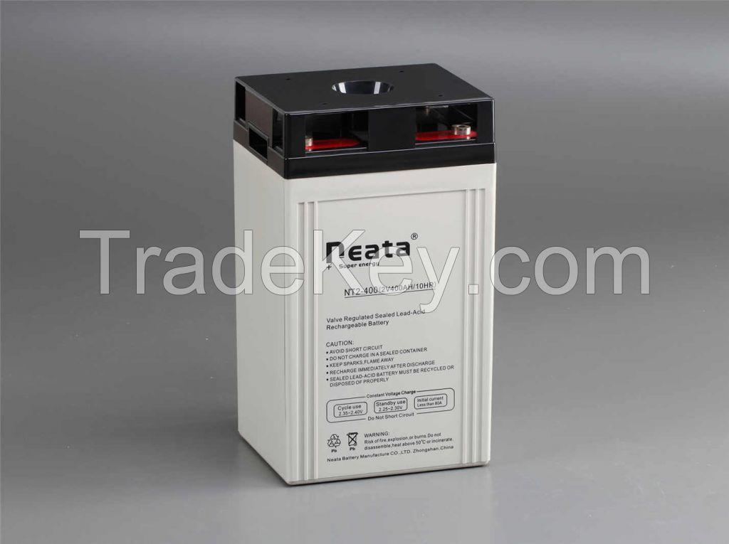 TELECOME Long Life Battery 2V 400Ah