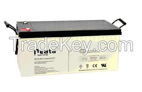 Lead Acid Backup Power UPS Battery 12V 200Ah