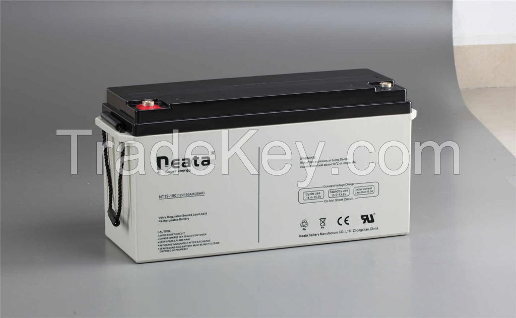 Lead Acid Backup Power UPS Battery 12V 150AH