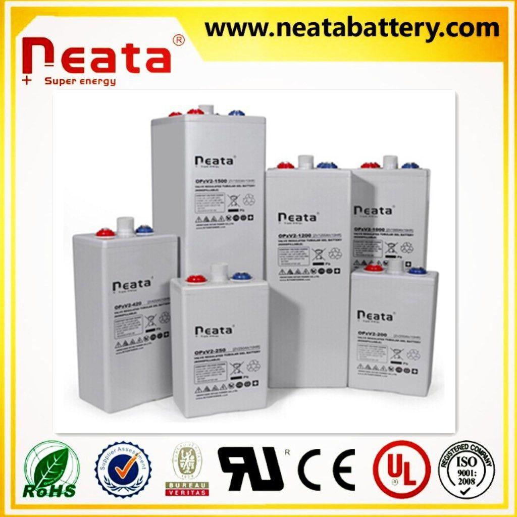Tubular Plate Battery 2V 200Ah OPZV Gel battery