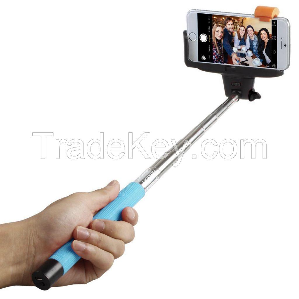 Best Selling Bluetooth Selfie Sticks Extendable Wireless Monopod (FWS001)