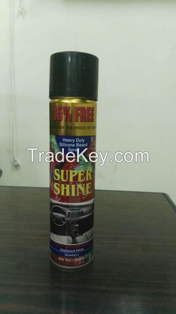 Super shine Dashboard polish spray