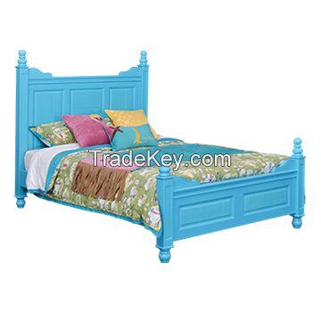 Sampo Kingdom Kids Pine Wood Bed