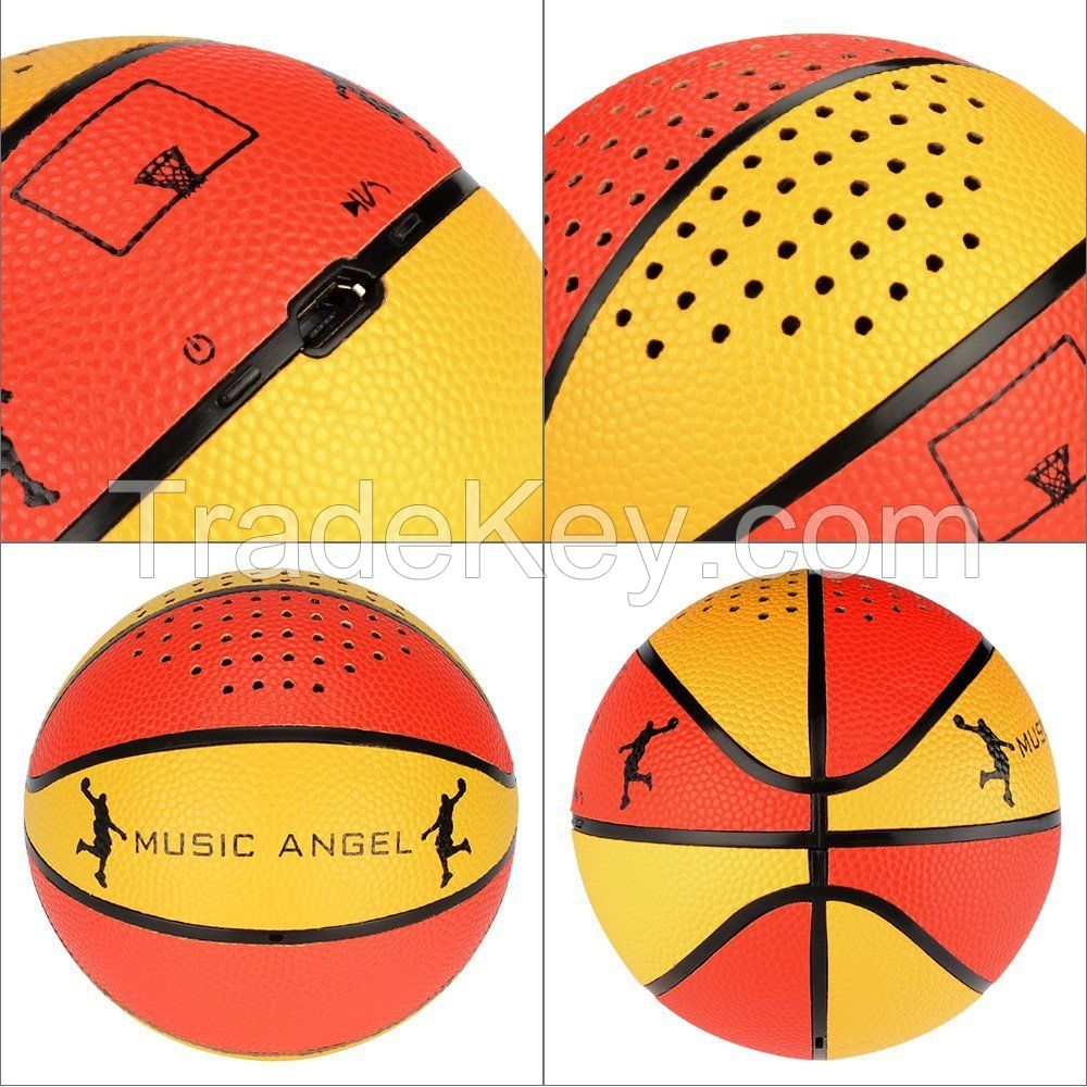 Music Angel Portable Wireless Bluetooth Speaker 4.0 Technology 11 Hours Playtime with TF Card Function Diaphragm Dual Speakers for Indoor/Outdoor/Shower Usage
