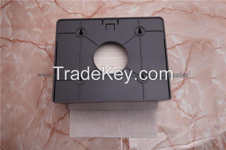 Multi-fold paper towel dispenser