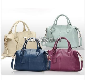 Hot Sale Genuine Leather Tote bags for Women, Classic Ladies Real Leather Tote Bag