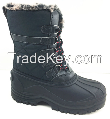 fashion casual children snow boot with keep warm function