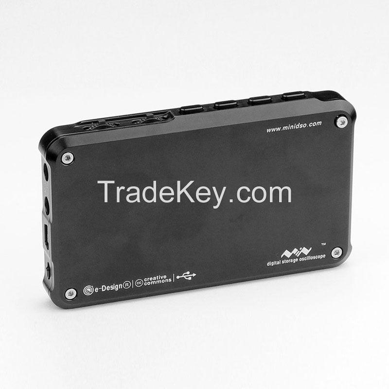 Mini Oscilloscope mini DSO DS203 metal (Black/titanium color)