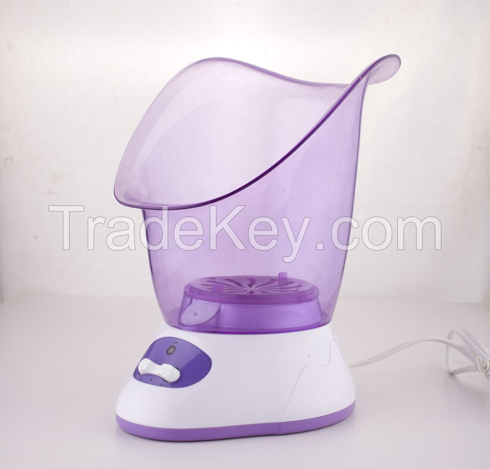 2016 high-tech nano face spray facial steamer with over-heating safty protect for home-used