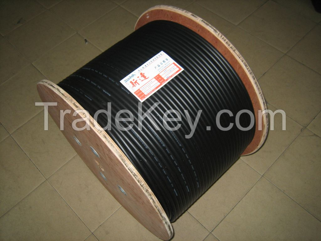 2016 hot sale RG11 Coaxial Cables with BC/CCA/CCS conductor for CATV System