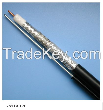 Best seller coaxial cable RG6 with BC/CCS/CCA conductor for CCTV MATV CATV