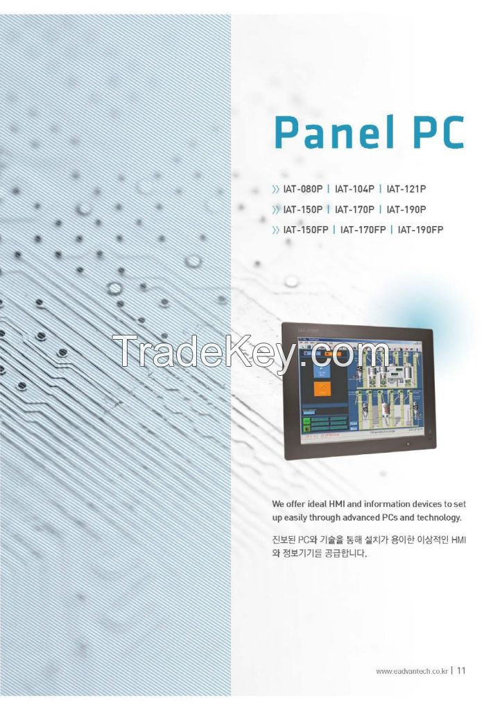 Panel PC AT-150p, IAT-170p, IAT-190p