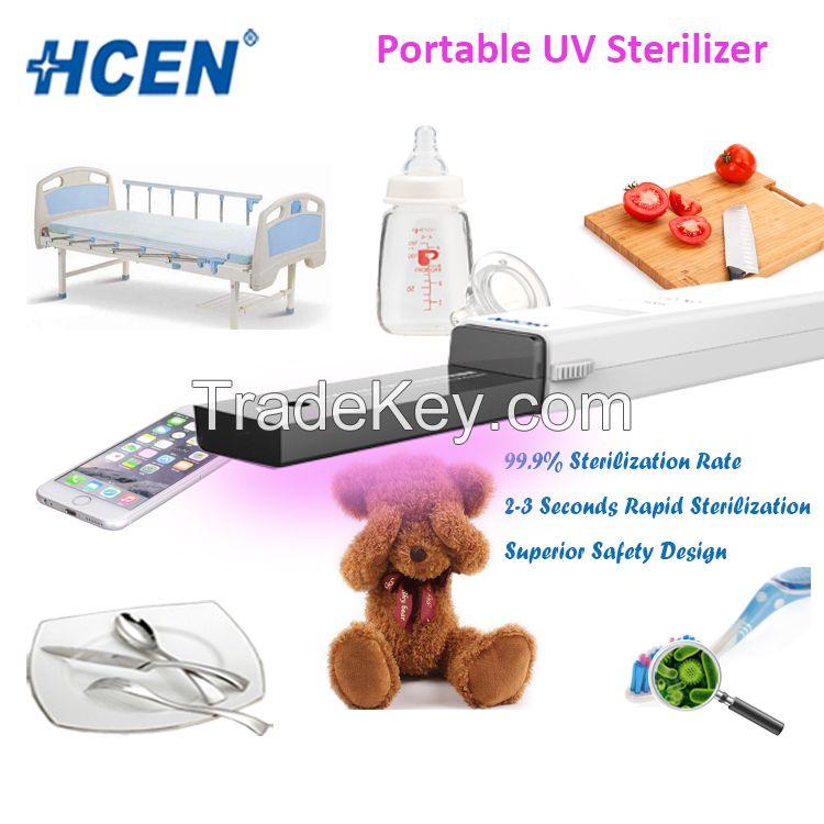 Shenzhen factory sale portable uv sterilizer wand