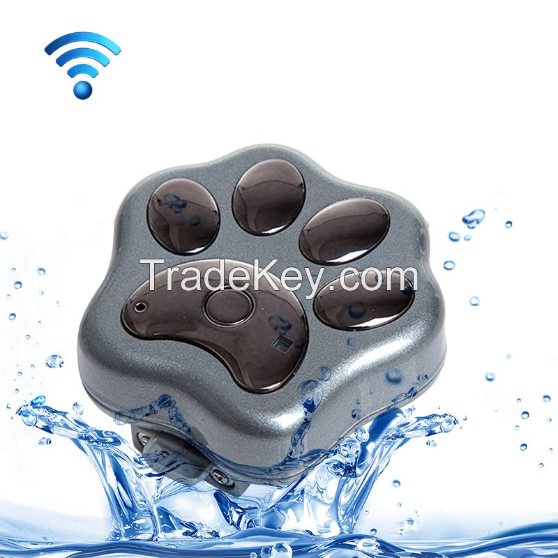 hot sale waterproof mini gps pet tracker for dog and wifi anti-lost locating automatically function