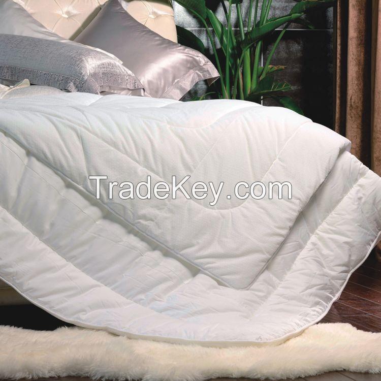 High quality wool comforter hotel comforter set luxury soft quilt