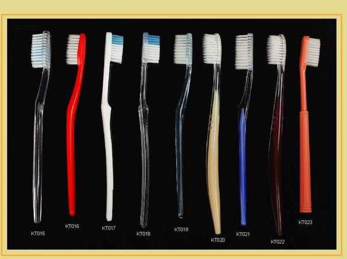 SLIPPER shampoo toothbrush hotel