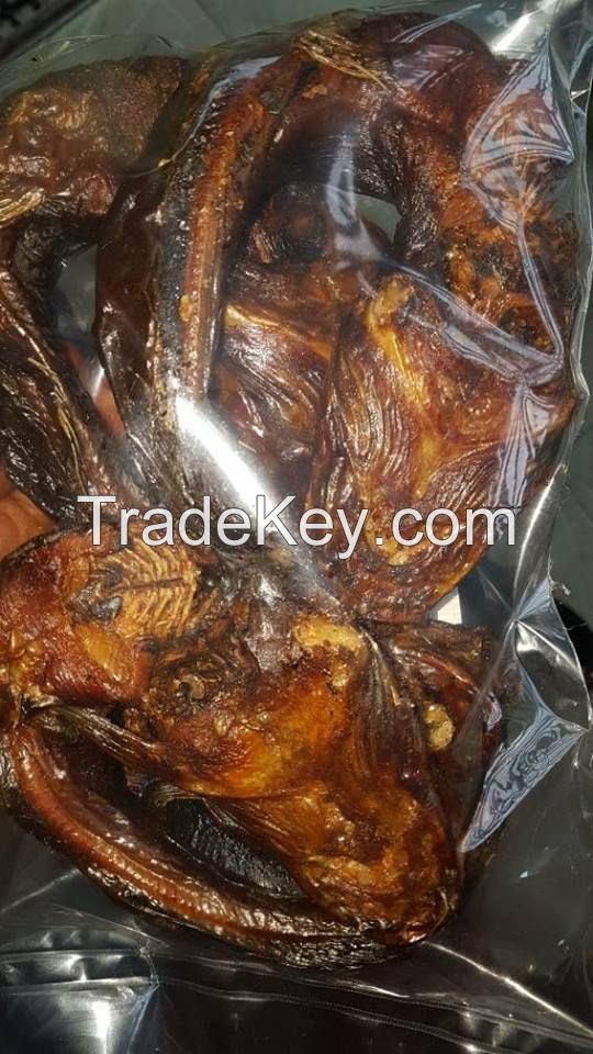 roasted & dried catfish