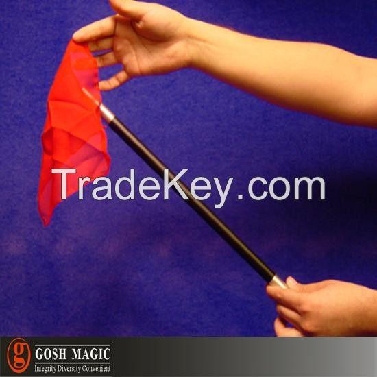 free shipping silk mag tric Silk Wand mag gimmick disappear silk