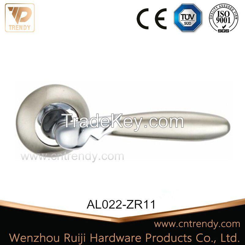 aluminum door lock handle