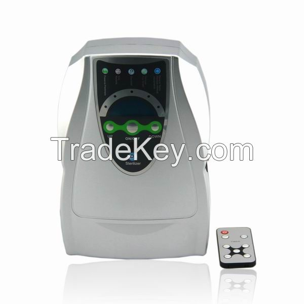 Portable ozone generator air purifier for household