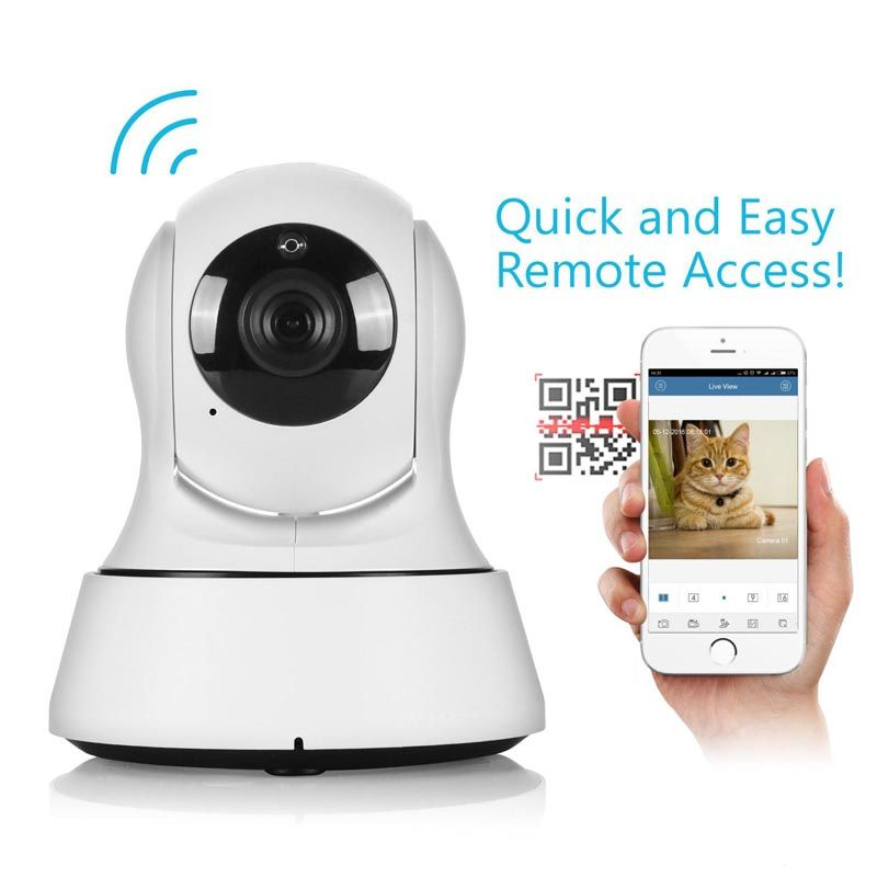 720P Home Security IP Camera Wireless Smart WiFi Camera Pet Monitor