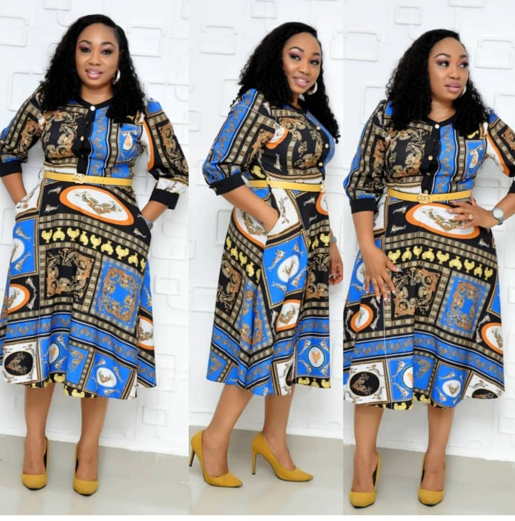 Fashion Dress for African Women Casual Dresses Wholesale