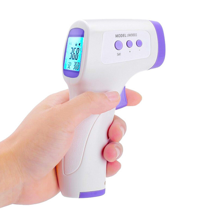 Non-Contact Forehead Infrared Thermometer  Digital IR Thermometer for Baby Kids and Adults